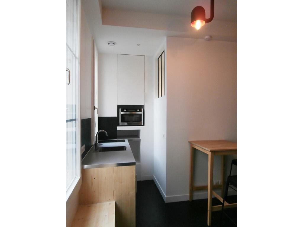 renovation studio - paris - 75018 - matesco architecture